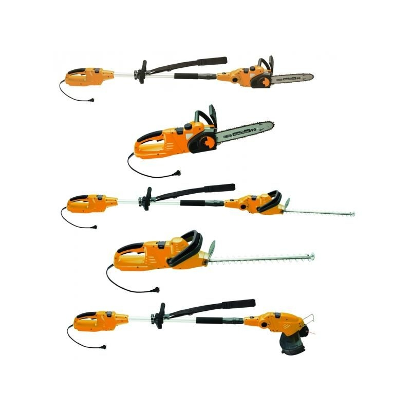 Set trimmer electric combi VILLAGER EMT 5 în 1
